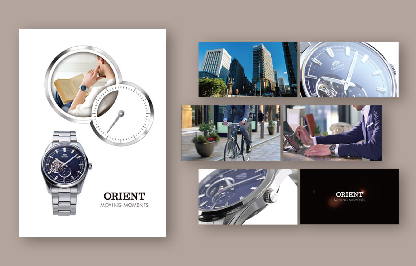 orient moving moments Visual content